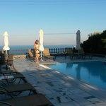 piscine - vue chambre