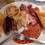 The big cow breakfast! :)