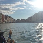 The Grand Canal from a gondola