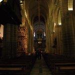 Своды и колонны собора