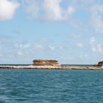 reef islands on speed boat tour