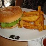 burger / frites