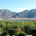Osoyoos Lake from del Ray B&B back deck