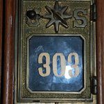 Love the antique room number