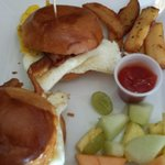 Bacon, Egg, & Cheese Sliders (Sunday Brunch Special)