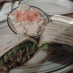 WRAP Guacamole + Ensalada Papas con mayonesa