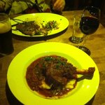 Rack of Pork and Lamb Shank