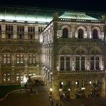 Opera house directly adjacent