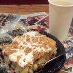 coffee and crumb cake