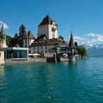 Schloss Oberhofen, from the ferry wharf