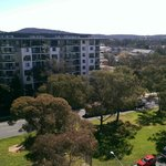 View north up Northbourne