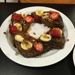 Special Ordered Banana Bread French Toast