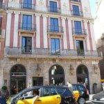 Façade de l'hôtel Bagues