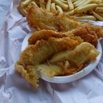Buffalo Beach Takeaway - lovely fish-and-chips