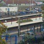 Uitzicht op station watford junction