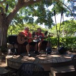 Live music during Brunch on Sunday.