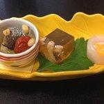 Appetizer at Asakusa Imahan.