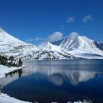 Ptarmagan Lake, after the first snowfall