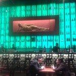 Decor - reclining Buddha at the Bar :-(
