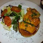 Grilled Salmon in Teriyaki Sauce