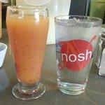 Berry orange juice