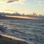 Atardecer en Ho'okipa Beach Park