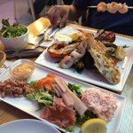 """Mixed Grill """"Chef's Choice"""" and Plateau """"Seafood Bar"""""""
