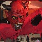 Halloween Decorations - Amazing - Barbarella Restaurant and Bar, La Jolla, CA