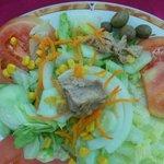 Ensalada Mixta: primer plato del menu