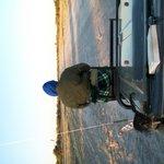 Xhega our charming guide & tracker