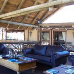 The Lodge area to chill out