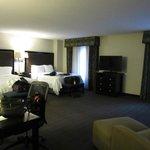 HUGE room!