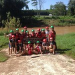 my first time rafting!