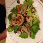 Salade de caille