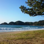 早朝の弓ヶ浜