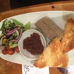 Yummy pate - good size portion