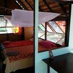 Intérieur de notre bungalow