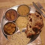 One of Our Lunch Thali