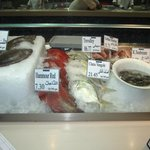 Fish in the market style display