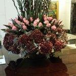 Prächtiges Blumendekor