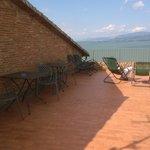 vista lago dal terrazzo - solarium