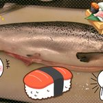 Fresh Salmon~~Sashimi