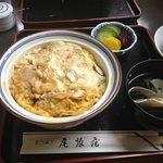 季節限定の松茸丼