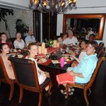 """Great wedding dinner with family! Thanks """"Shy-boy""""!"""