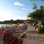 Stoupa beachfront
