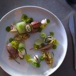 Makreelfilet met komkommer