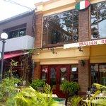 Front view Lao Luna Italian Restaurant