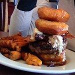 doughnut burger