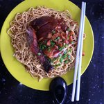 Kon Lau mee with roasted duck