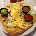 My HUGE Zebbs Fajita Salad